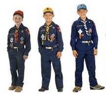 Tiger, Wolf, and Bear Cub Scouts